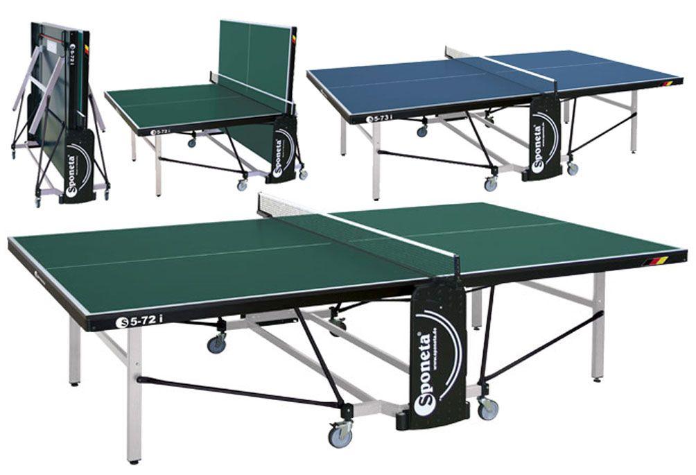 Stůl na stolní tenis (pingpong) Sponeta S5-72i, zelený