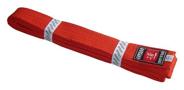 Pásek ke kimonu KATSUDO - oranžový