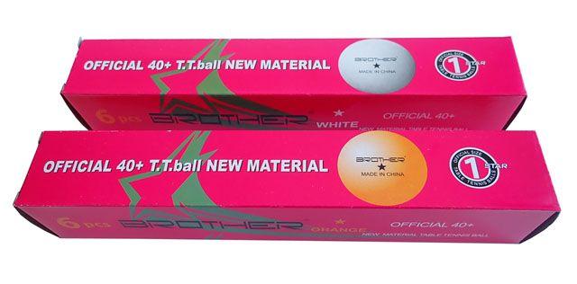 CorbySport DOUBLE HAPPINESS 1star 34880 Míčky pro stolní tenis - 6ks 40mm