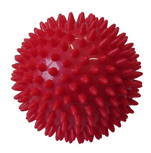 Acra D25 Míček masážní 7,5 cm červený