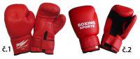 Boxerské rukavice PU kůže - vel. S, 8 oz.
