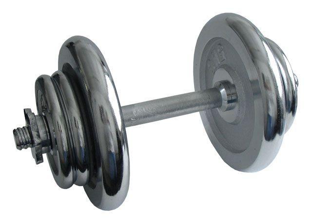 Činka nakládací, jednoruční, chromová - 17 kg