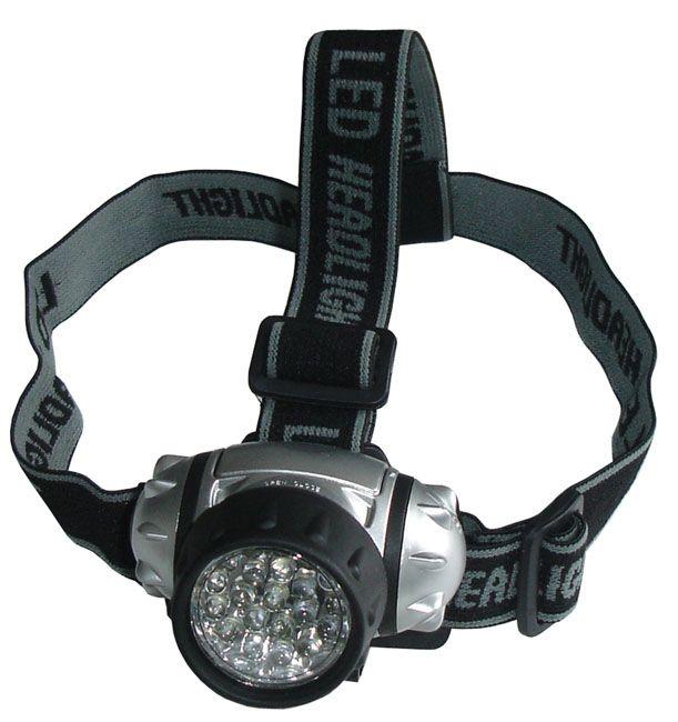 Čelová svítilna - čelovka 21 LED