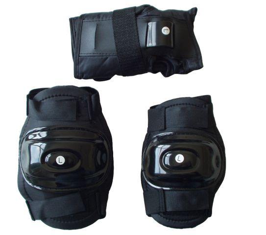Sada chráničů na kolečkové brusle - velikost L