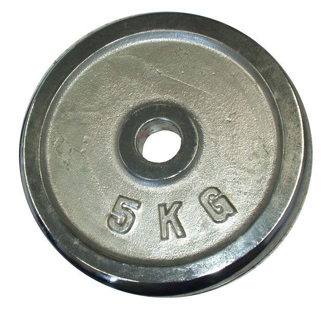 Kotouč chrom 5 kg - 25 mm