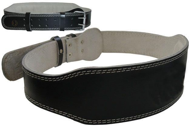 Vzpěračský pás kožený velikost M - 105 cm