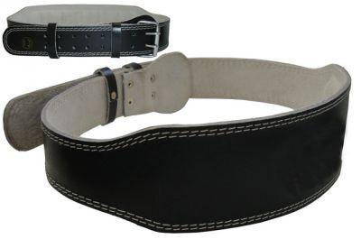 Vzpěračský pás kožený velikost M