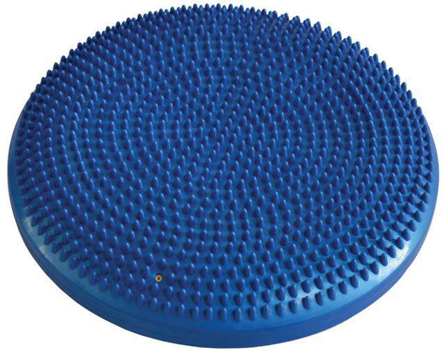 Balanční a masážní polštářek 33 cm - modrý