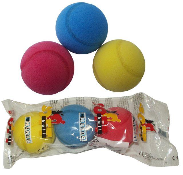 Mondo 4913 Míček na soft tenis 3 ks