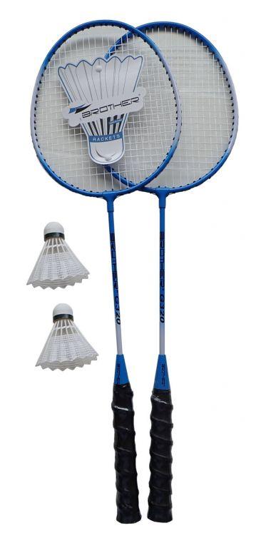 Brother 5010 Badmintonová sada - 2 pálky + košíček