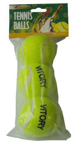 Míčky tenisové 3ks v sáčku