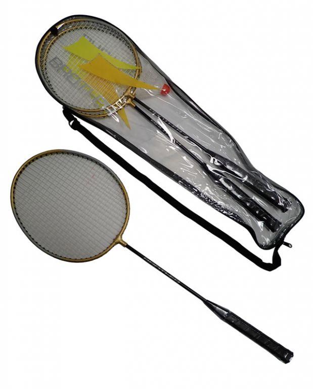 CorbySport 5031 Badmintonová sada - 2 rakety+ košíček