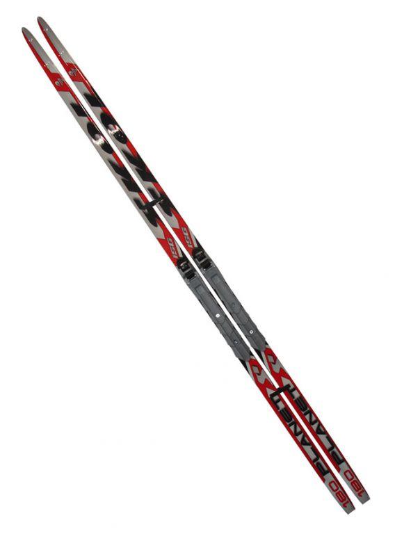 Běžecké lyže s vázáním NNN - 180 cm