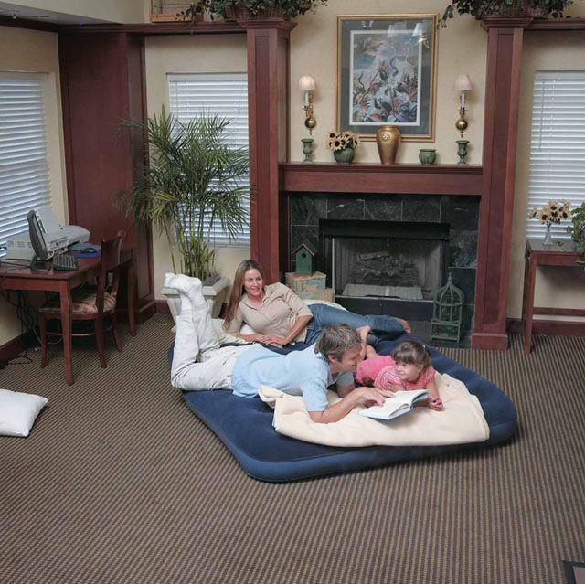 Bestway Air Bed Klasik Queen dvoulůžko modrá 203 x 152 x 22 cm 67003