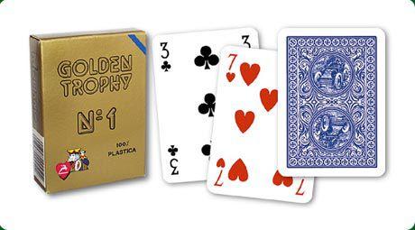 Modiano Golden Trophy 31304 Karty - Modré