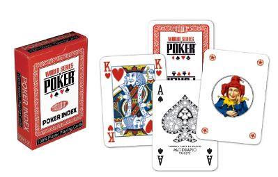 Modiano WSOP regular index 4249 Poker karty červené