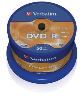 Médium Verbatim DVD-R 4,7GB 16x 50-cake