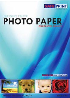 Papír Safeprint foto pro inkoustové tiskárny A4, lesklý, 135 g/m2, 20ks, samolepící