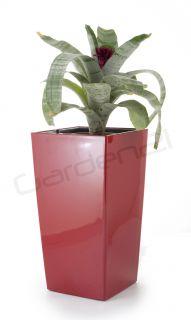 Samozavlažovací květináč G21 Linea small červený 55cm