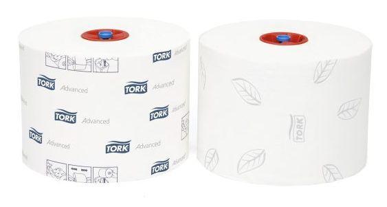 Toaletní papír Tork Advanced T6 kompaktní role, 2 vrstvy, 27 ks