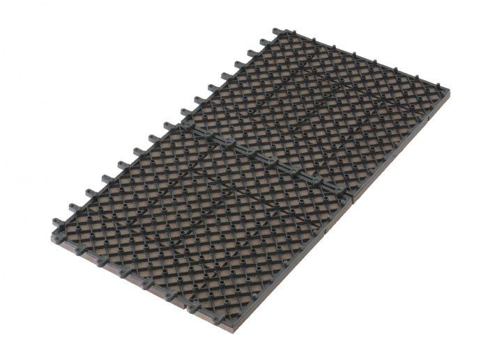 WPC dlaždice G21 Palmyra indický teak 2,3x30x30 cm