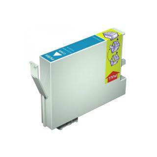 Inkoust T0712 kompatibilní azurový pro Epson Stylus D78 (12ml)