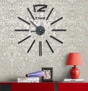 Samolepící hodiny G21 Elegant Style