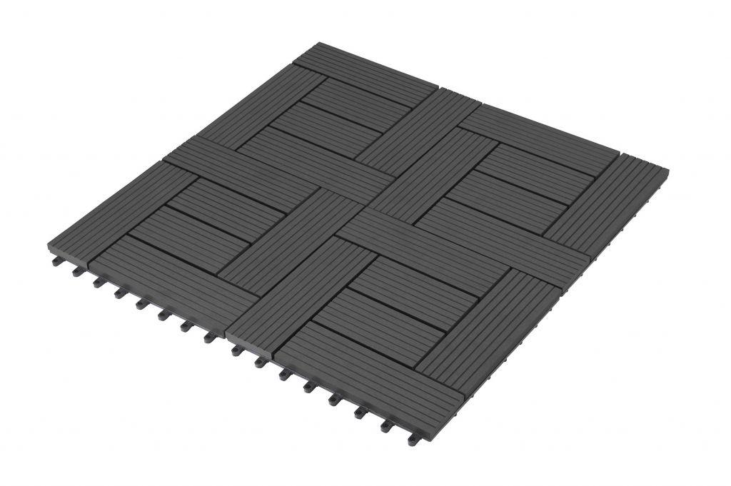 WPC dlaždice G21 Palmyra, Eben 2,3x30x30 cm