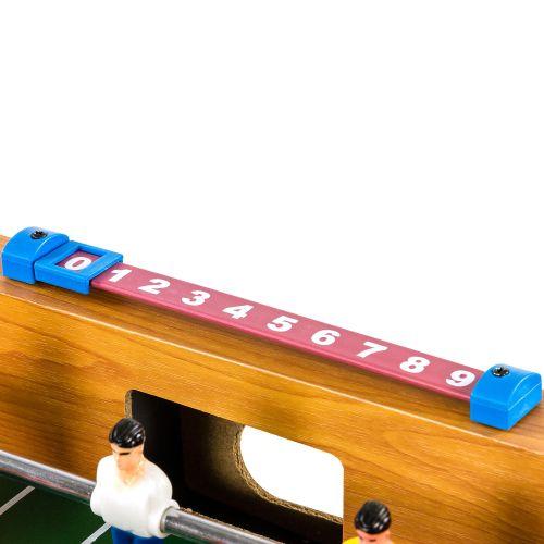 Mini stolní fotbálek s nožičkami 70 x 37 x 25 cm - světlý
