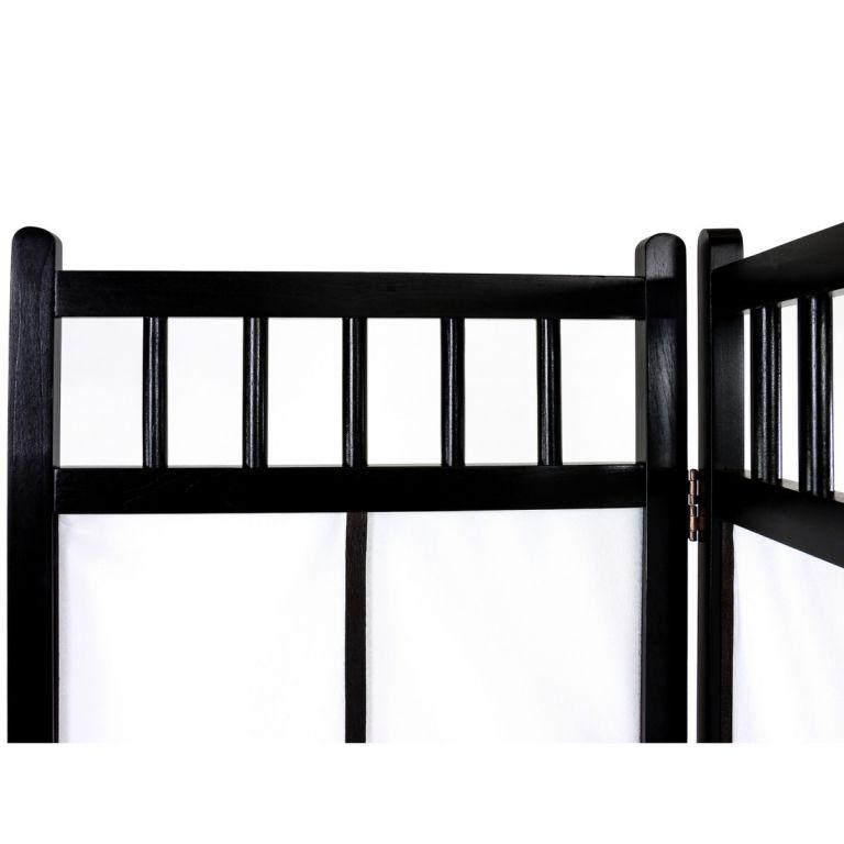 Paraván STILISTA 180 x 156 cm - černý
