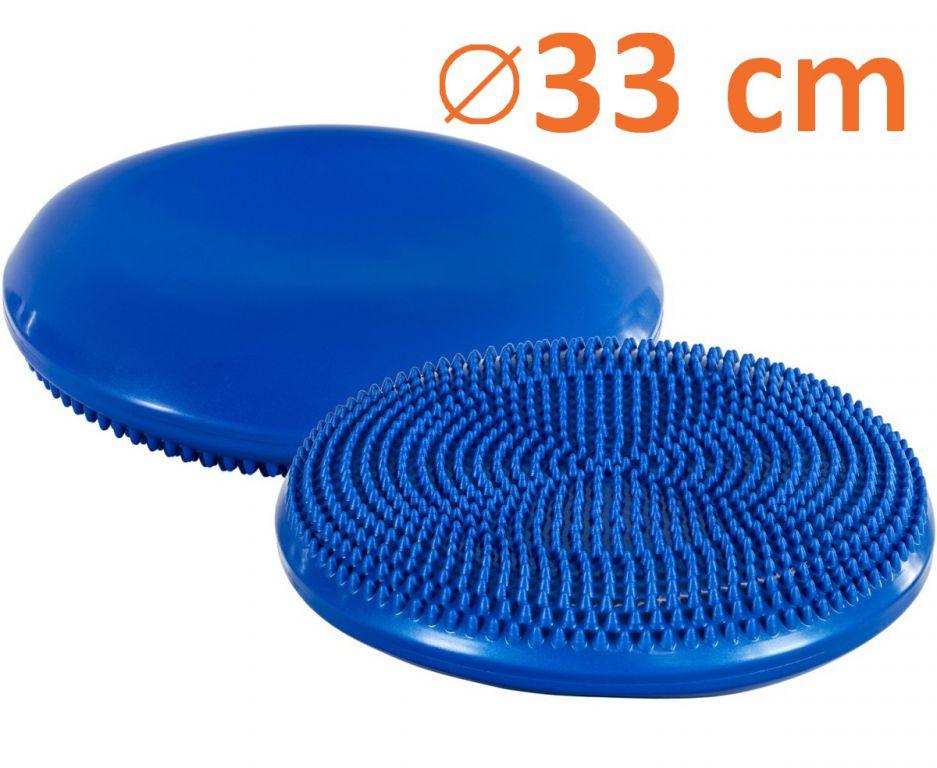 MOVIT 1235 Balanční polštář na sezení 33 cm modrý