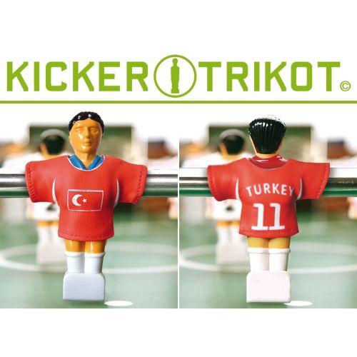 Náhradní fotbalové dresy Turecka 11 ks