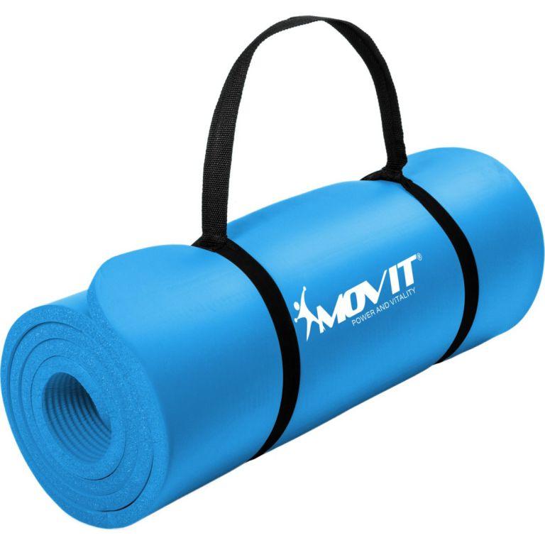 MOVIT 2305 Podložka na jógu 190 x 60 x 1,5 cm sv. modrá