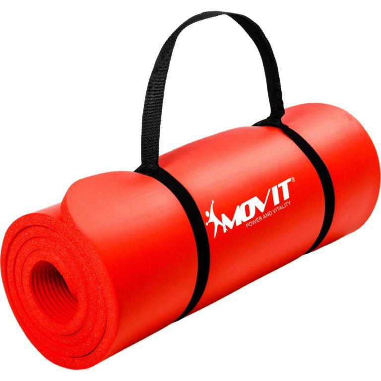 MOVIT 2307 Podložka na jógu 190 x 60 x 1,5 cm červená