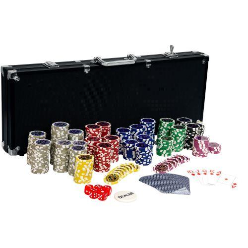 Tuin Ultimate black 2644 Pokerový set, 500 žetonů