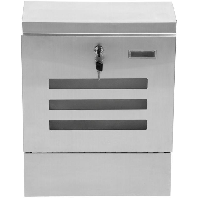 Poštovní schránka nerezová