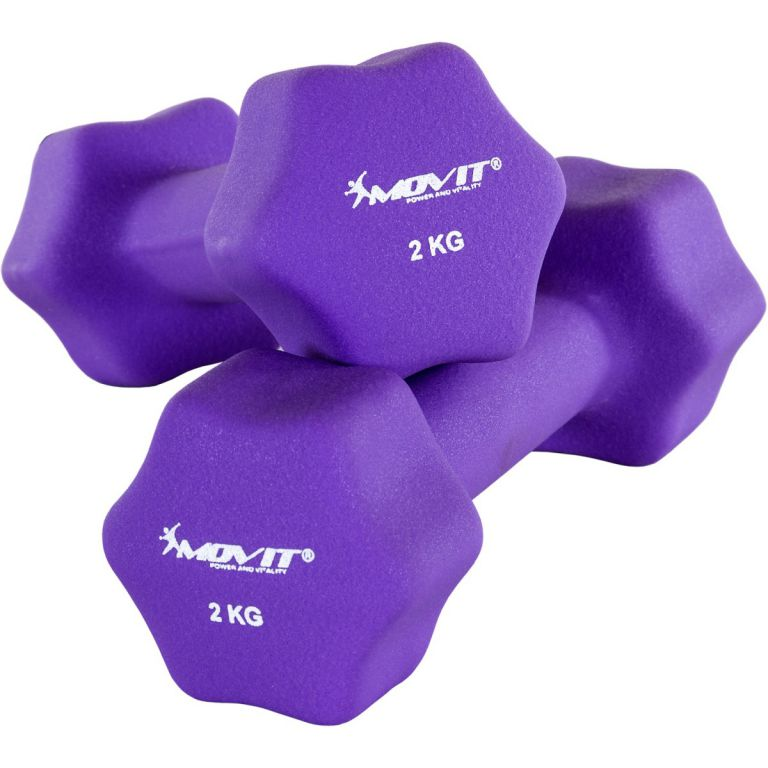 Set 2 činek s neoprenovým potahem 2 kg MOVIT