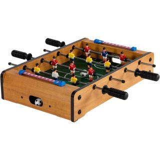 Mini stolní fotbal fotbálek 51 x 31 x 8 cm - světlý
