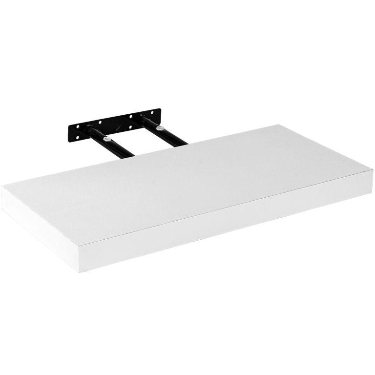 STILISTA VOLATO 31052 Nástěnná police - matná bílá 70 cm