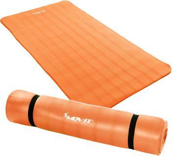 Podložka na jógu MOVIT 190 x 100 x 1,5 cm oranžová