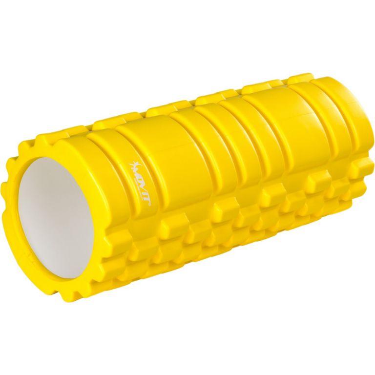 Posilovací masážní válec - FITNESS ROLLER MOVIT žlutá