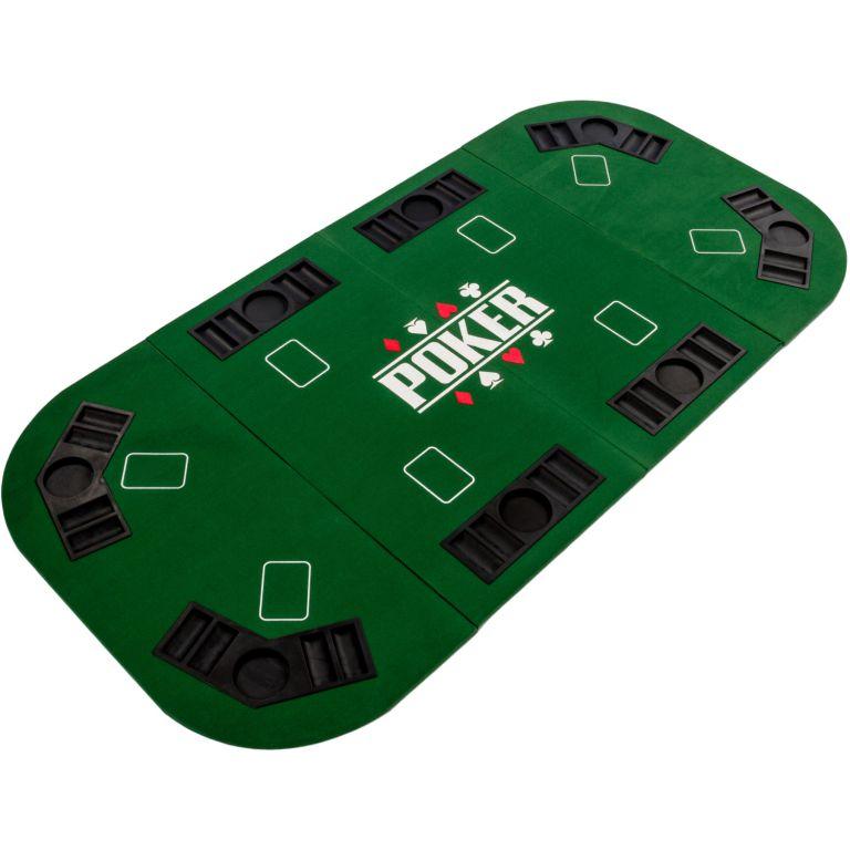 Garthen 57300 Skládací pokerová podložka - zelená