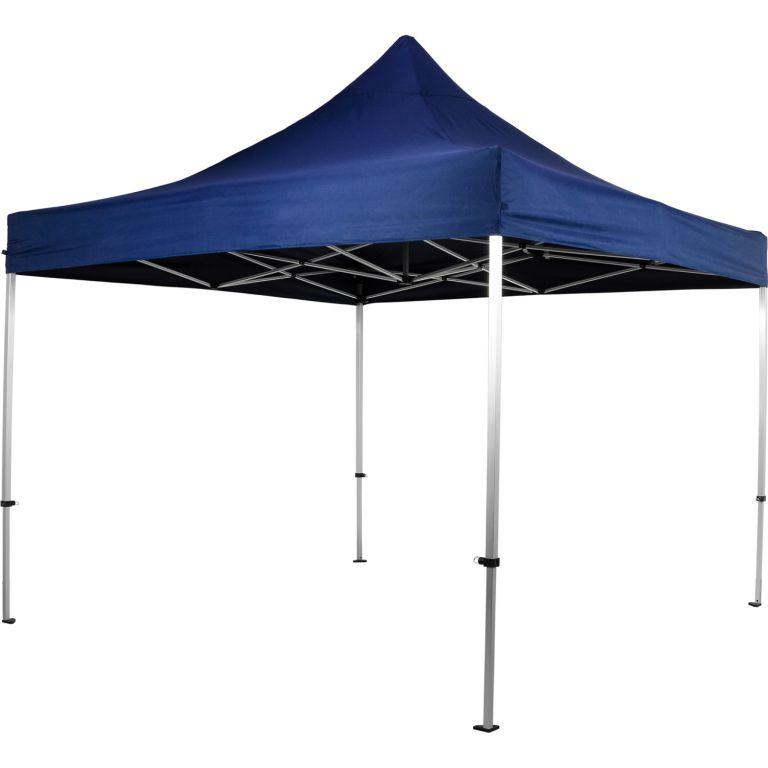 INSTENT 58591 Zahradní párty stan nůžkový 3x3 m - modrý