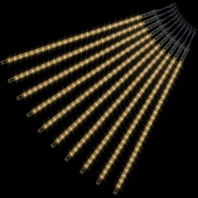 VOLTRONIC® 59607 Vánoční LED osvětlení - padající sníh - 240 LED teple bílá