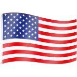 Vlajka USA - 120 cm x 80 cm