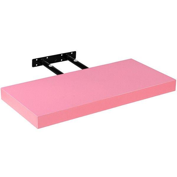 Stilista Volato nástěnná police, 40 cm, růžová