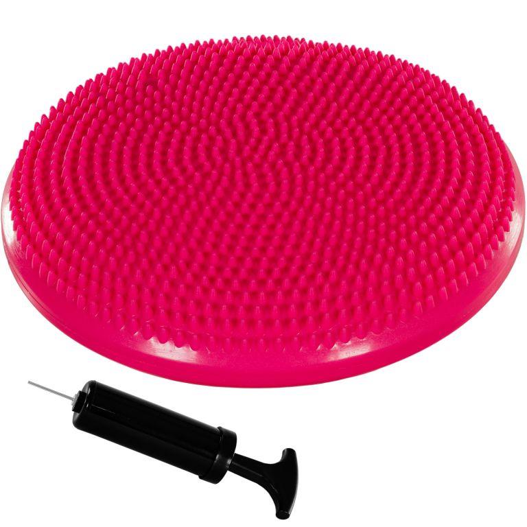 MOVIT Balanční polštář na sezení, 38 cm, růžový