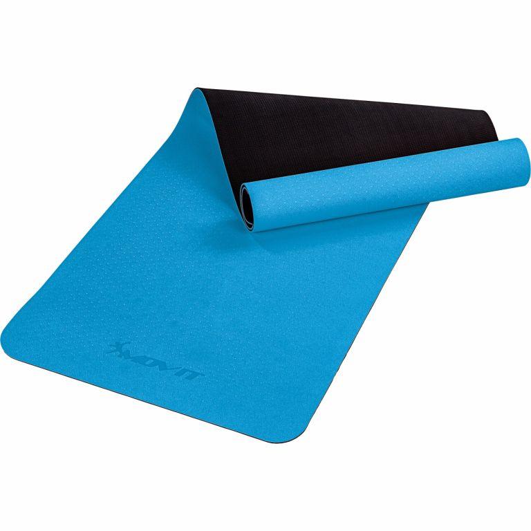 MOVIT Jóga podložka na cvičení, 190 x 60 cm, světle modrá