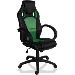 Otočná kancelářská židle ZELENÁ GS Series