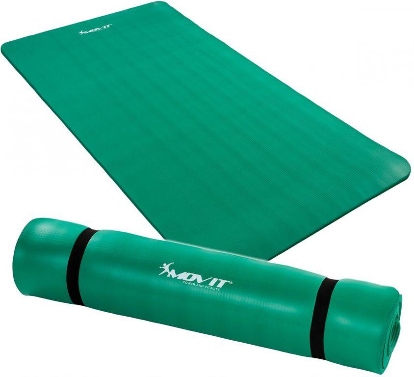 MOVIT 9613 Podložka na jógu 190 x 100 x 1,5 cm zelená
